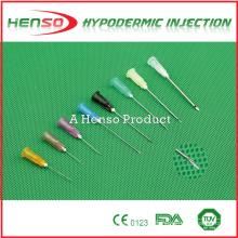 Tamaños de agujas hipodérmicas para inyección