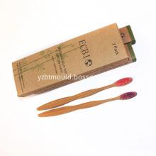 Eco-Friendly Bamboo Nano Charcoal Toothbrush