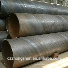 Tubo de acero helicoidal soldado para Construcción y abastecimiento de agua y pilotes