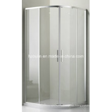 Clear Glass Duschkabine (E-01 Klarglas ohne Tablett)