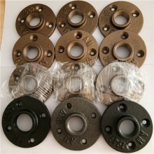 Casting Iron Threaded Pipe Fitting floor Flange