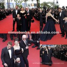 Off Shoulder Celebrity Red Carpet Dress