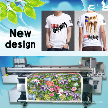 Digital Textile Belt Printer for Fabrics Roll to Roll Printing