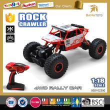 1:18 de alta qualidade rc rock crawler