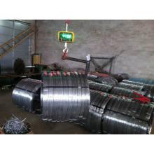 Alambre oval galvanizado de acero al carbono 1045