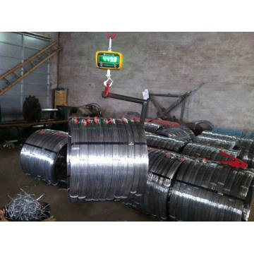 Carbon Steel 1045 Galvanized Oval Wire