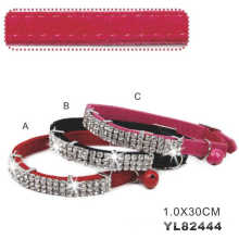 Beatiful Girl Cat Collars with Elastic Band (YL82444)