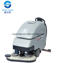 Dual-Brush Floor Scrubber Dryer