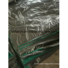 Light-Duty Green Grey PE Tarpaulin Cover, PE Tarps