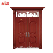 Steel door design in bangladesh made of steel frame Roman column