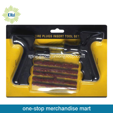 Tire Repair Insert Tools With Seal String Plug