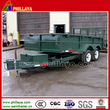 Special Drawbar Truck Mini Van Type Full Trailer