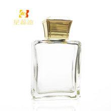 Пластиковая крышка для флаконов с парфюмерной композицией Gold Color Square