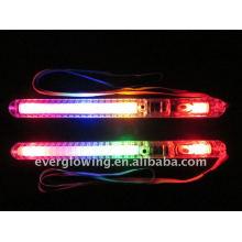 palos de luz intermitente led