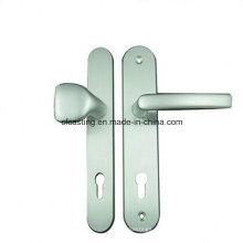 Manija de la puerta de fundición de aluminio por Die Casting