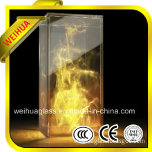 6mm-12mm Fireproof Glass Price for Building with CE/CCC/ISO9001