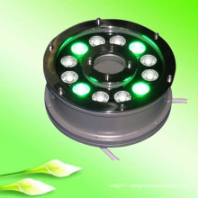 china supplier new product 100-240v 12V 24V 9w 12w ip65 RGB led underwater light for swimming pool