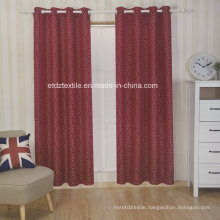 Polyester Embroidery Like Jacquard New Pattern Window Curtain