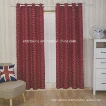 Bordado de poliéster como cortina de janela novo padrão jacquard