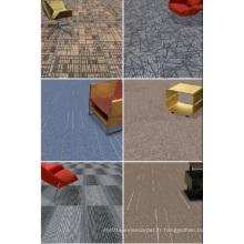 Carrelage de tapis commercial PP avec support de bitume