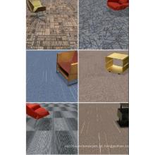 Telha de carpete comercial PP com suporte de betume