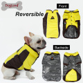 Heat Paw Warm Comfortable Large Dog Coat Reversible Pet Jacket