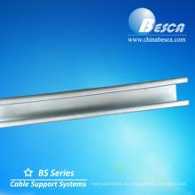 Canal de puntal de acero inoxidable (UL, cUL, CE, IEC y SGS)