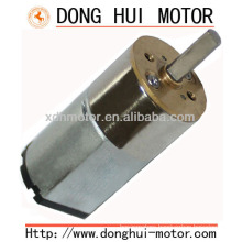 mini size electric dc geared motor 16mm diameter