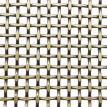 Wire Grille Diamond Metal Wire Mesh