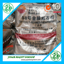 Factory Producing Paraffin Wax (kunlun brand 58-60)