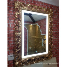 LED Light Antique Mirror para baño y habitación de hotel