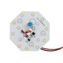 Warm white light 5W LED ceiling light module