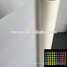 Cutting Plotter Vinyl T-shirt Ropa usada Silver White Reflective Heat Transfer Vinyl