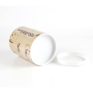 Großhandel benutzerdefinierte Pappe Snack Zylinderrohr Box