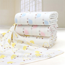 115 * 115 cm 6 camadas gaze de algodão musselina swaddle cobertor do bebê 115 * 115 cm 6 camadas gaze de algodão musselina swaddle cobertor do bebê