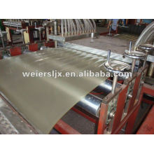 PVC transparent sheet making machine