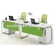 Heißer Verkauf 2 Person Büroarbeitsplatzpersonal Schreibtische