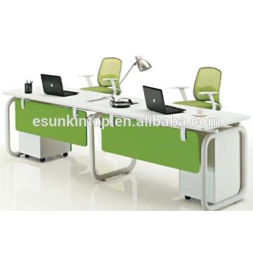 Hot sale 2 person office workstation staff desks