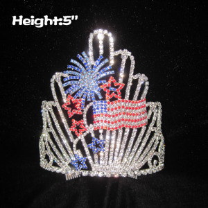 Wholesale Crystal Firework Pageant Crowns
