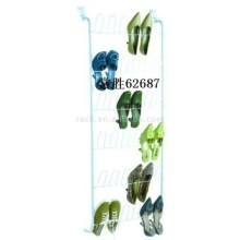 18-Pair Over The Door Metal Shoe Rack Organizer (62687)