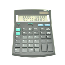 Financieel Accountant Desktop Calculator Met Belastingtarief