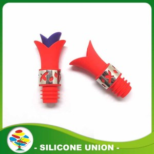 Soft Food Grade Silicone Wine Bottle Stopper