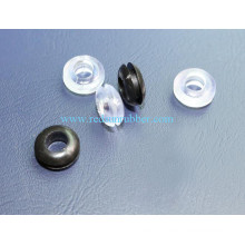 Oeillet en caoutchouc ignifuge adapté aux besoins du client de silicone