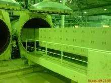 Food Rubber Sand Concrete Autoclave Industrial / AAC Block