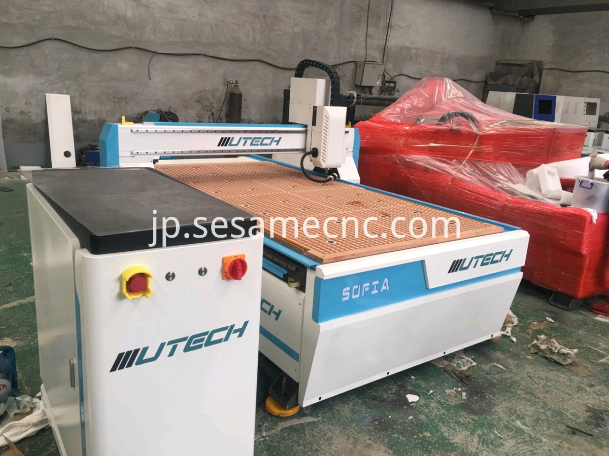 Automatic Edge Searching CNC Machine