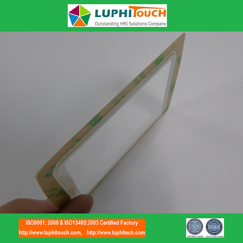 Clear Display Window OCA Lamination Lens Graphic Overlay 7