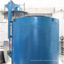 Pit type gas nitriding furnace