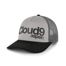 3D Embroidery 5 Panel Trucker Hat for Adults