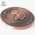 Supply 70mm Custom Logo Challenge Metal Military Coin for Souvenir Gift