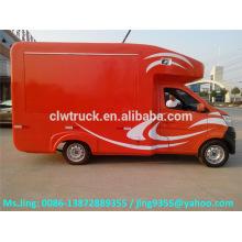 Низкая цена грузовика мини-магазина ChangAn, мобильных грузовиков для фаст-фудов в продаже в Мексике